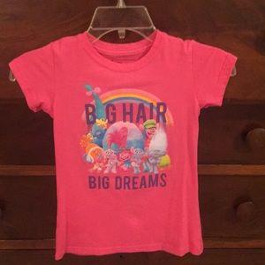 08eec0845 dreamWorks Trolls Shirts   Tops - Trolls pink girls T-shirt